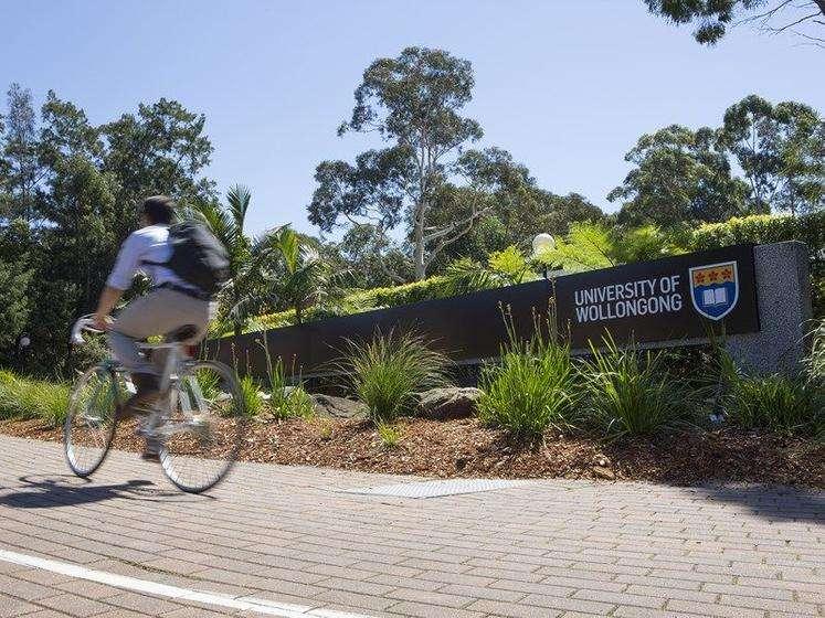 Thuận tiện đến trường Đại học Wollongong