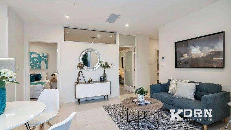 Căn hộ chung cư đơn giản, hiện đại với hai phòng ngủ