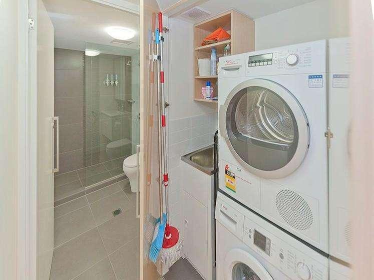 Nhà có phòng giặt tích hợp tiện lợi