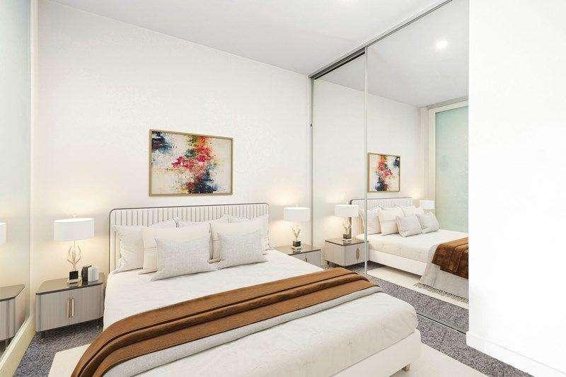 Phòng ngủ thứ hai của căn hộ cũng có thiết kế vô cùng trang nhã