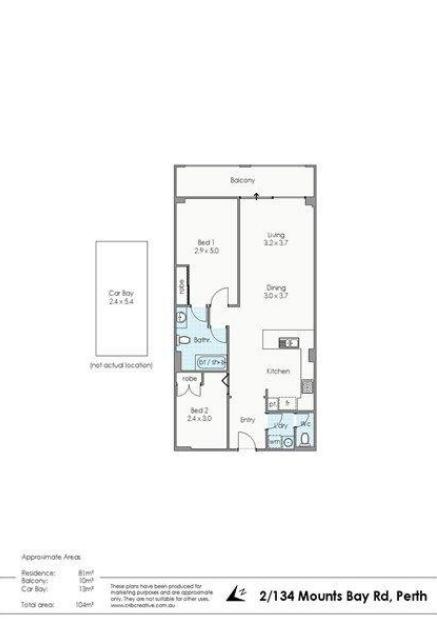 Sơ đồ mặt bằng mua căn hộ bang Tây Úc thành phố Perth 2021