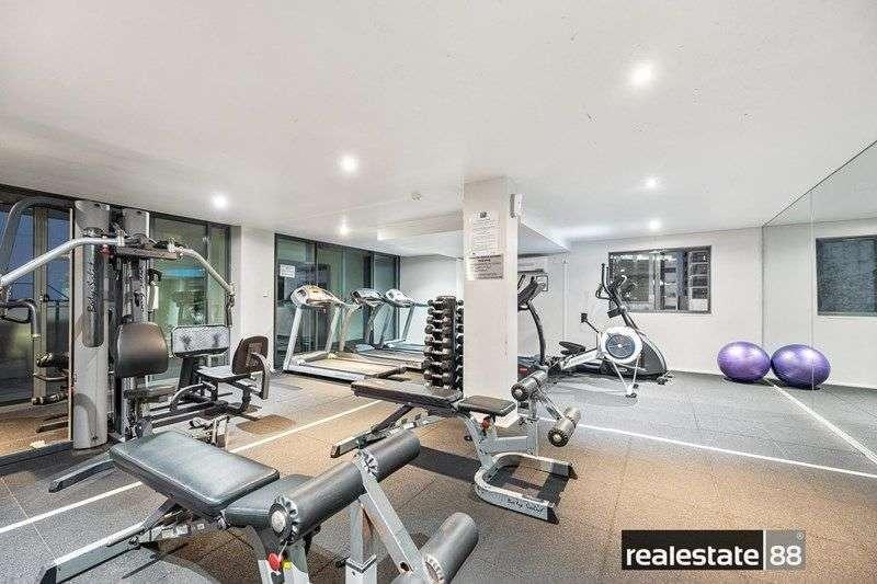 Phòng tập thể dục đầy đủ tiện nghi để bạn sử dụng